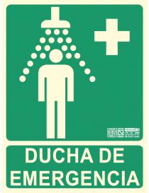 Senyal d'evacuació DUTXA...