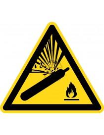 """Señal advertencia """"BOTELLAS..."""