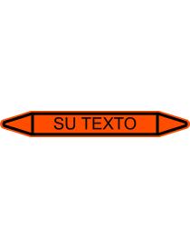 Etiqueta Fletxa Taronja per...