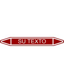 Etiqueta Fletxa Marró per...